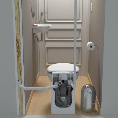 SANICOMPACT (023) – Self Contained Upflush System – sanifloworld.com